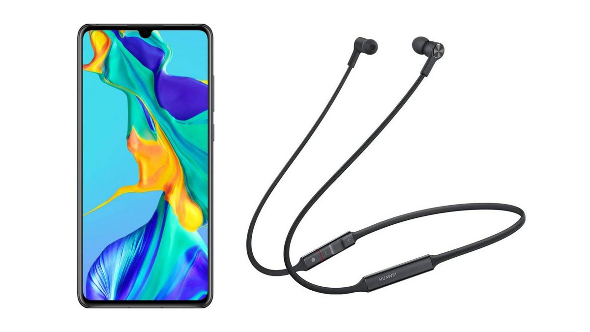 pack Huawei P30 ecouteurs Freelace