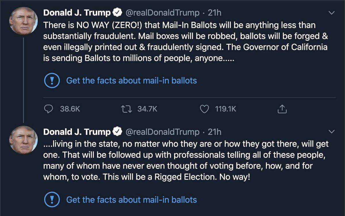tweets de Trump