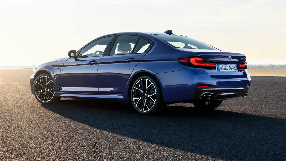 BMW série 5 Hybride © BMW