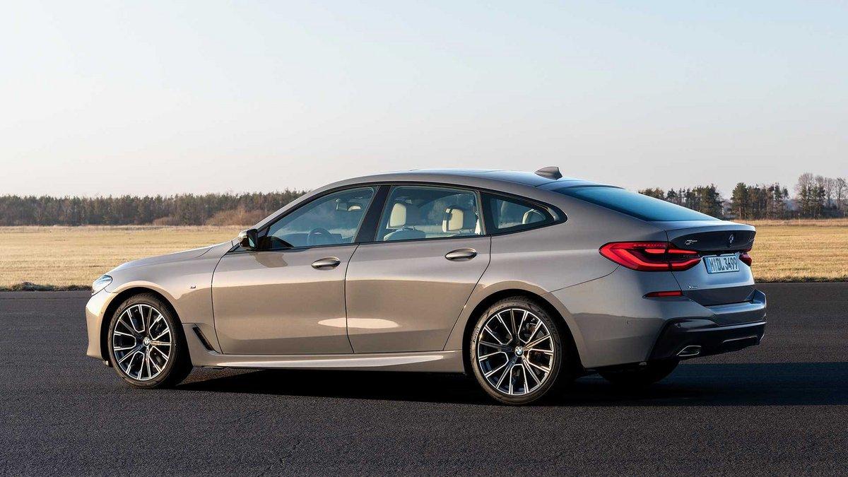 BMW série 6 GT Hybride © BMW