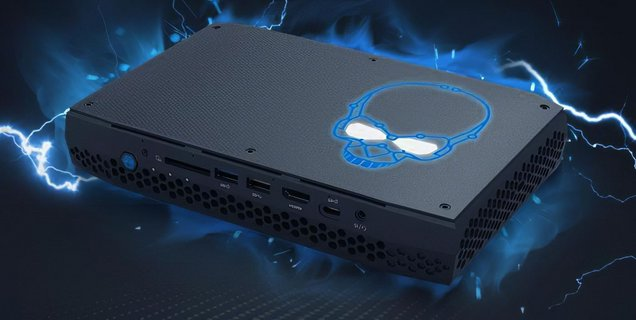 Un NUC Intel à base de CPU Tiger Lake et de GPU GTX 1660 Ti