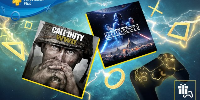 PlayStation Plus : Call of Duty WWII et Star Wars Battlefront II offerts aux abonnés