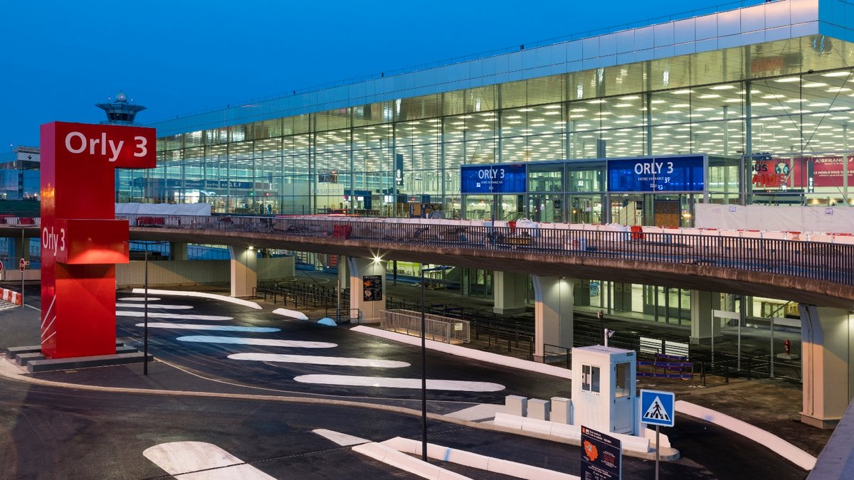 Orly 3 Aéroport © Groupe ADP - Gwen le Bras
