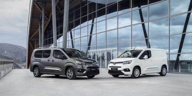 Toyota dévoile la version électrique de ses utilitaires Proace et Proace City