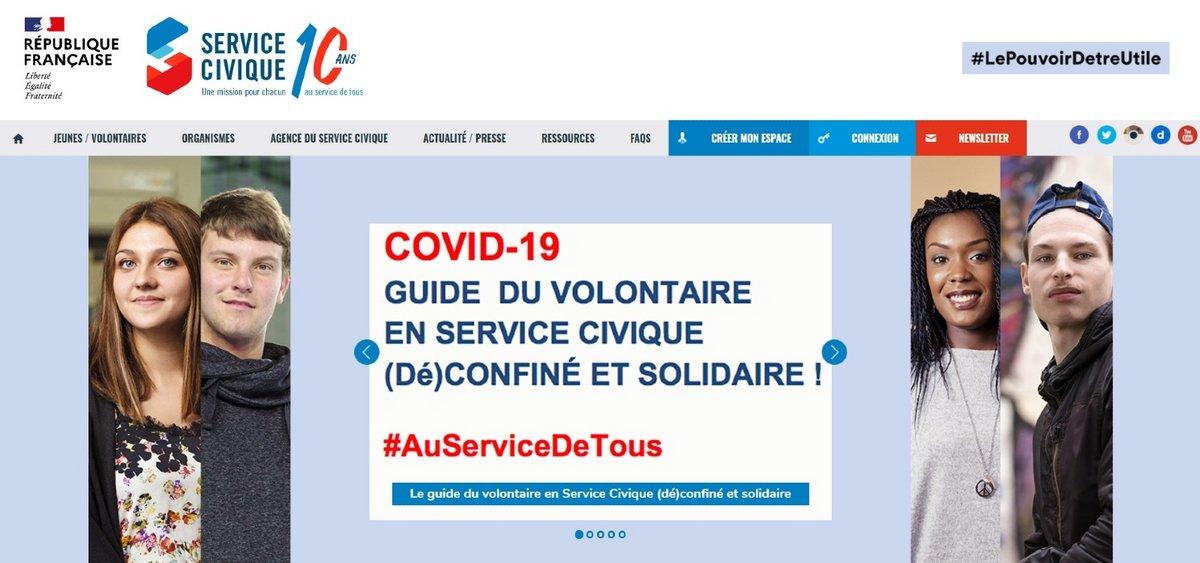 Service civique site