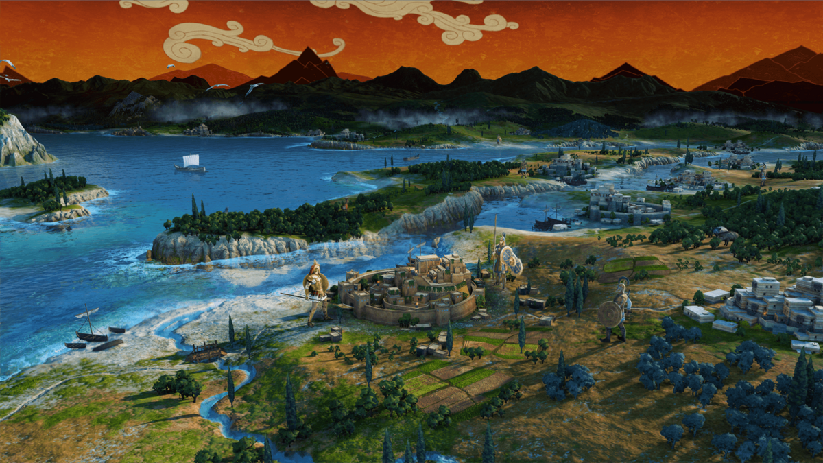 Total War Saga: Troy © The Creative Assembly