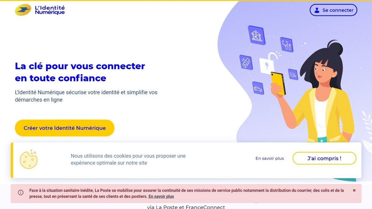L'Identité Numérique La Poste © La Poste