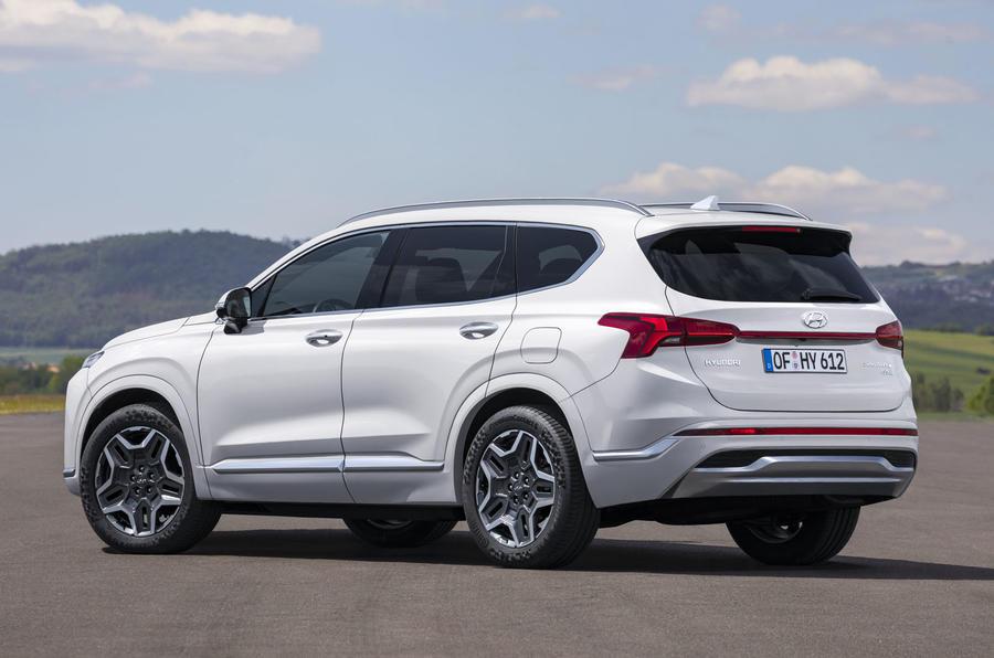 Hyundai Santa Fe 2021 © Hyundai