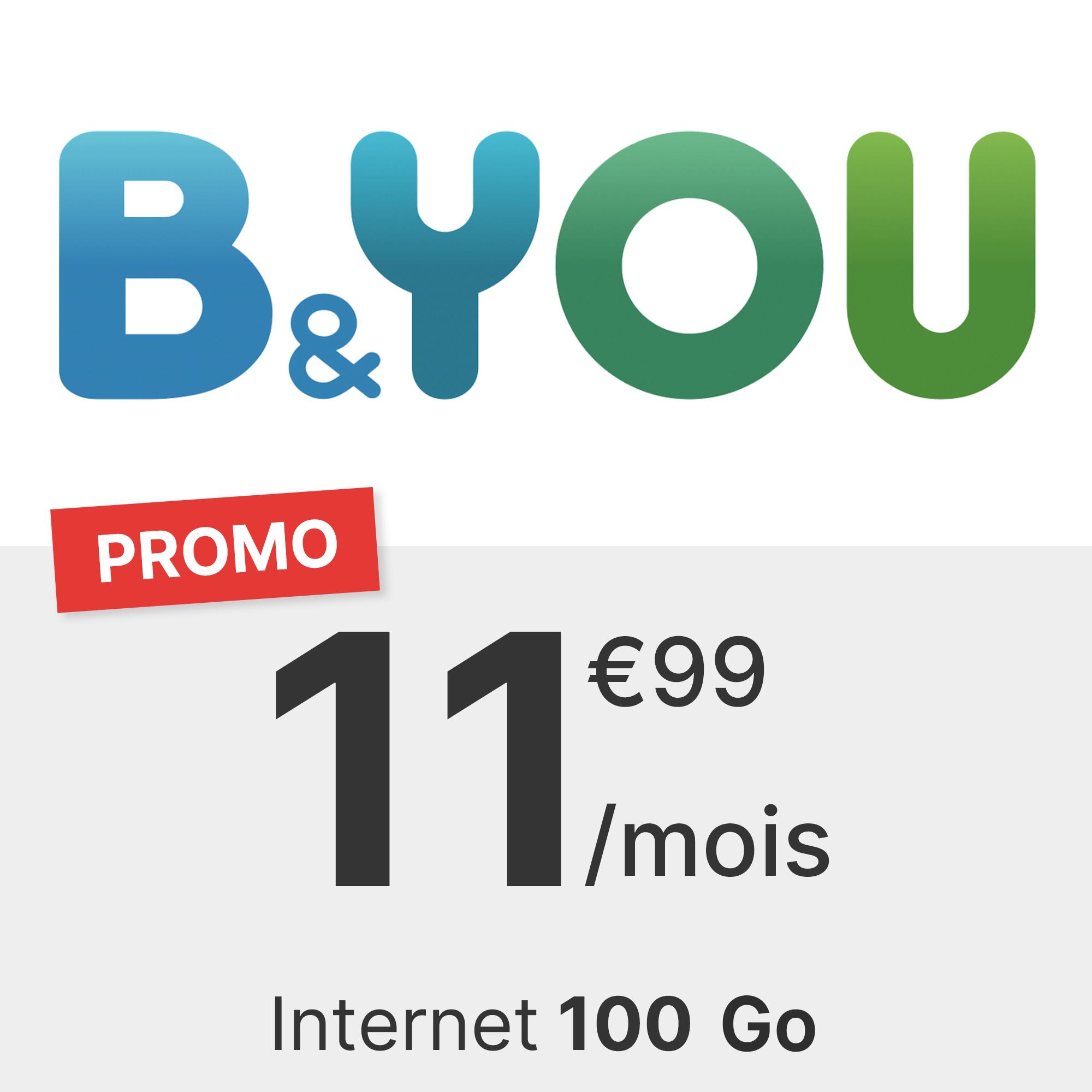 Forfait B&You 100 Go