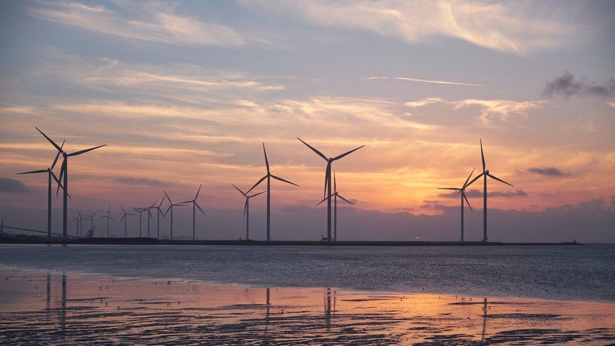 Éolien offshore © Pixabay / Bru-nO