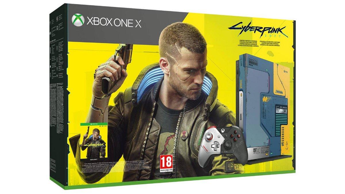 Xbox One X 1 To Edition Limitée Cyberpunk 2077
