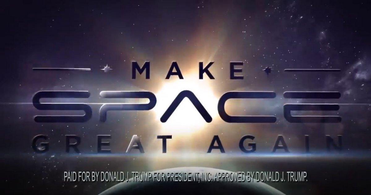 cancel makespacegreatagain © Youtube/D.Trump