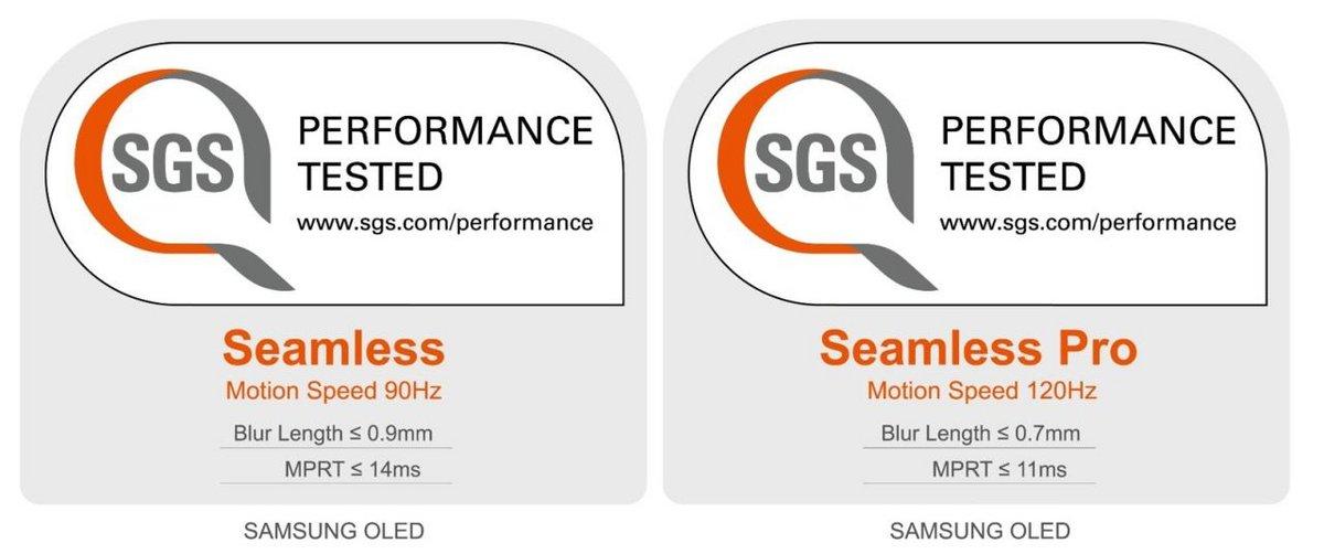 Samsung certification © SGS