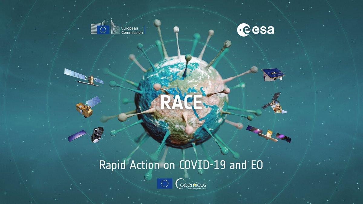 RACE ESA plateforme COVID19 © ESA