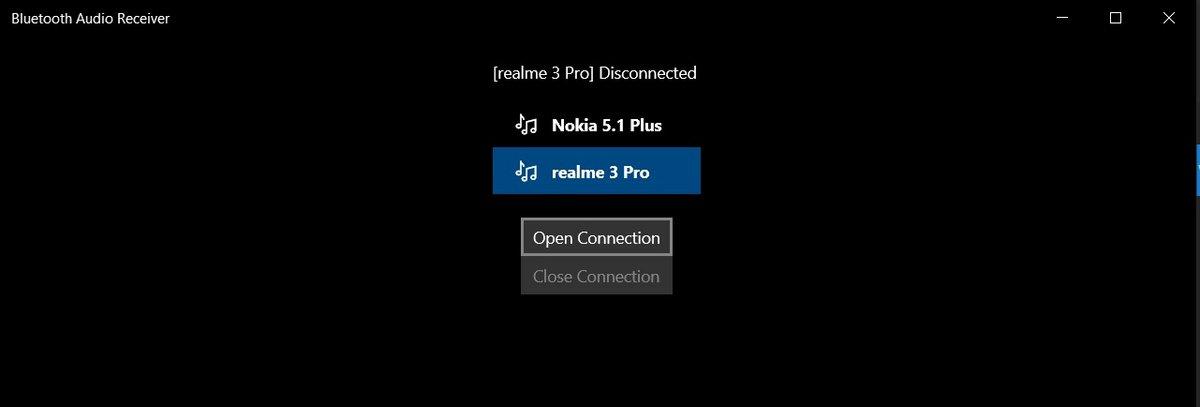 Windows 10 Bluetooth A2DP sink application ©windowslatest