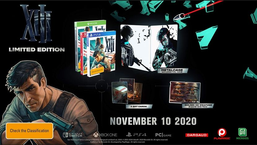 XIII Limited Edition (Microids) © Microids