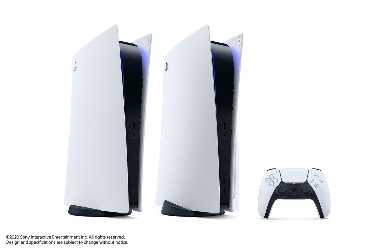 PS5 deux modèles