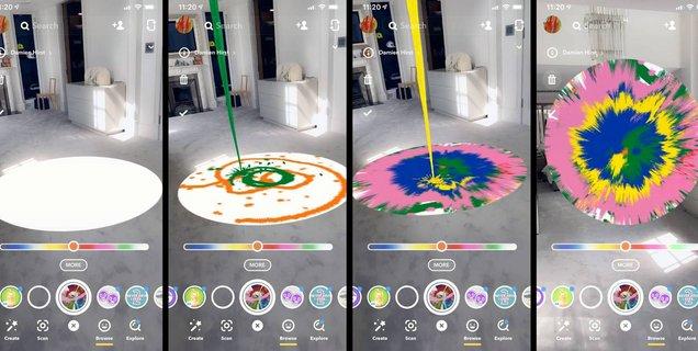 Snapchat place la réalité augmentée au cœur de sa stratégie de conquête