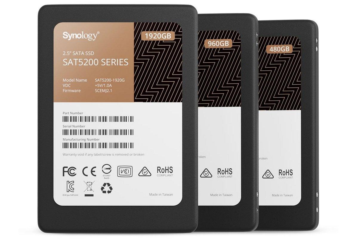 SSD Synology SAT5200 © Synology