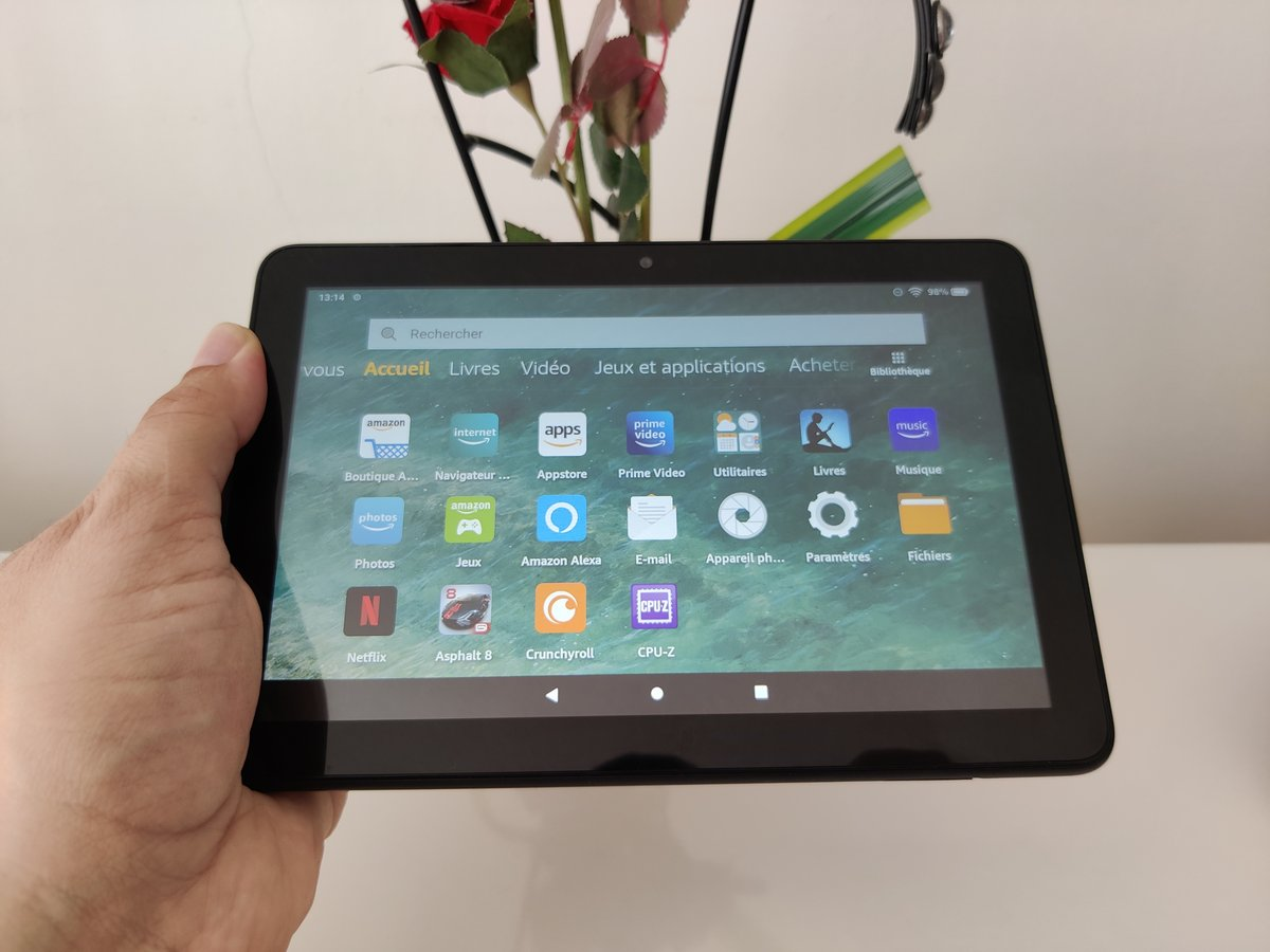 Amazon Fire HD 8 - Prise en main