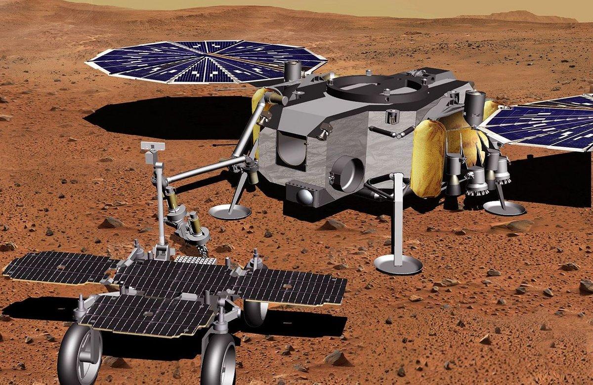 Fetch rover Mars Sample Return ©NASA/JPL-Caltech