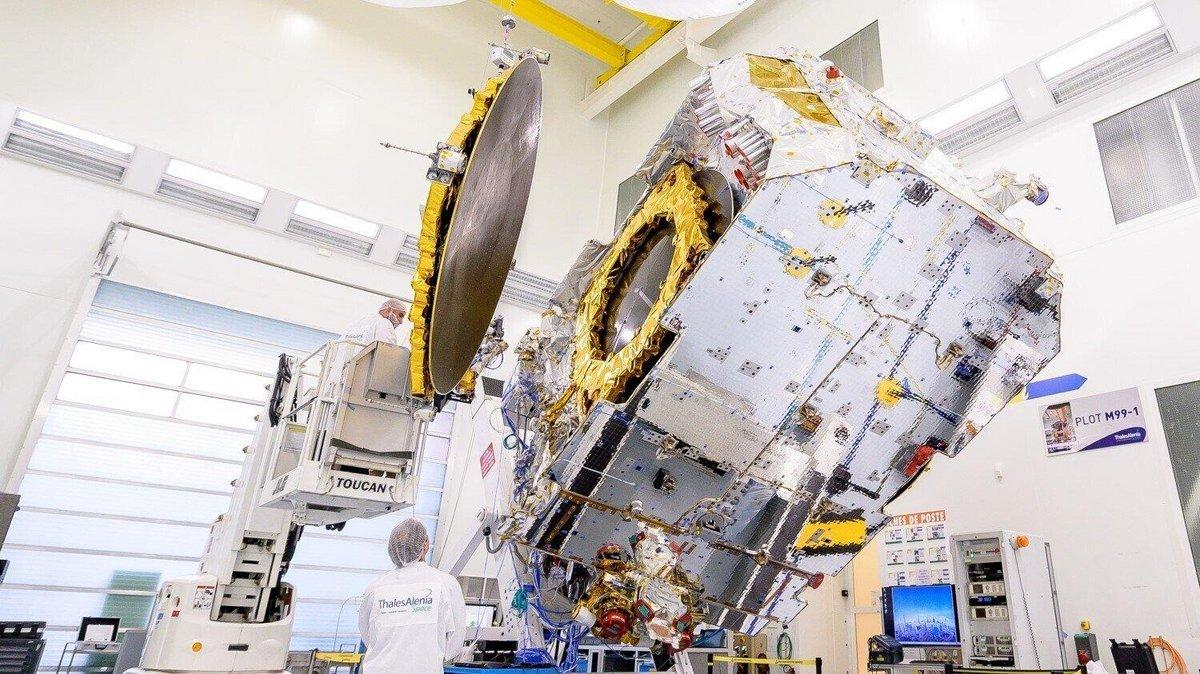 Eutelsat Konnect © Thales Alenia Space