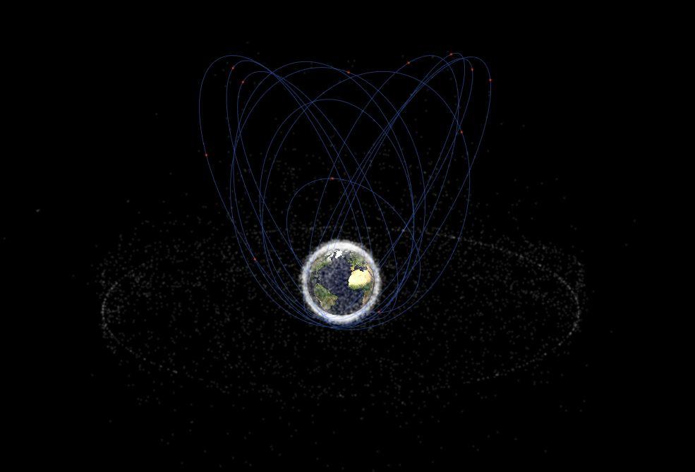 Satellite Molniya © Stuffin.org