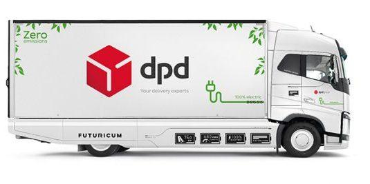 DPD camion électrique © DPD