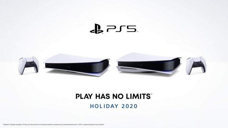 PS5 horizontale