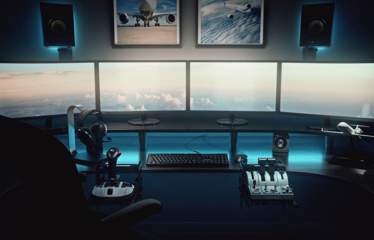 Thrustmaster TCA Airbus Edition © Thrustmaster