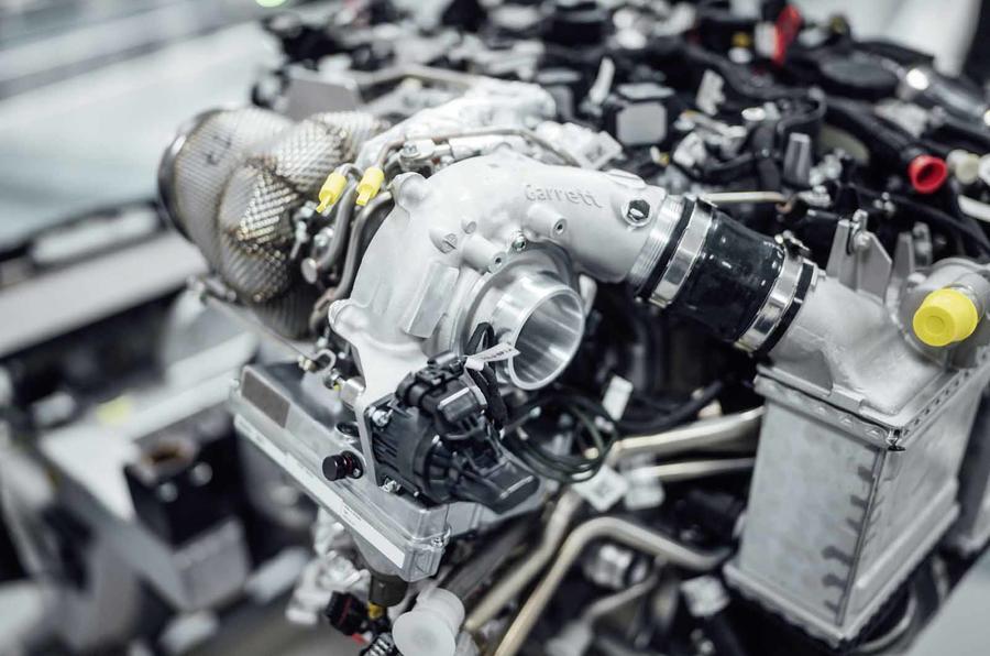 Turbo électrique Mercedes-AMG Garett © Mercedes-AMG