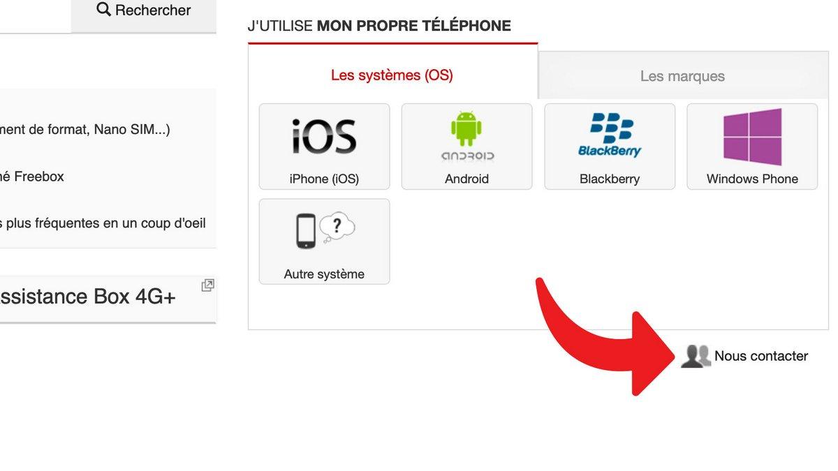 Tuto Free Mobile SAV