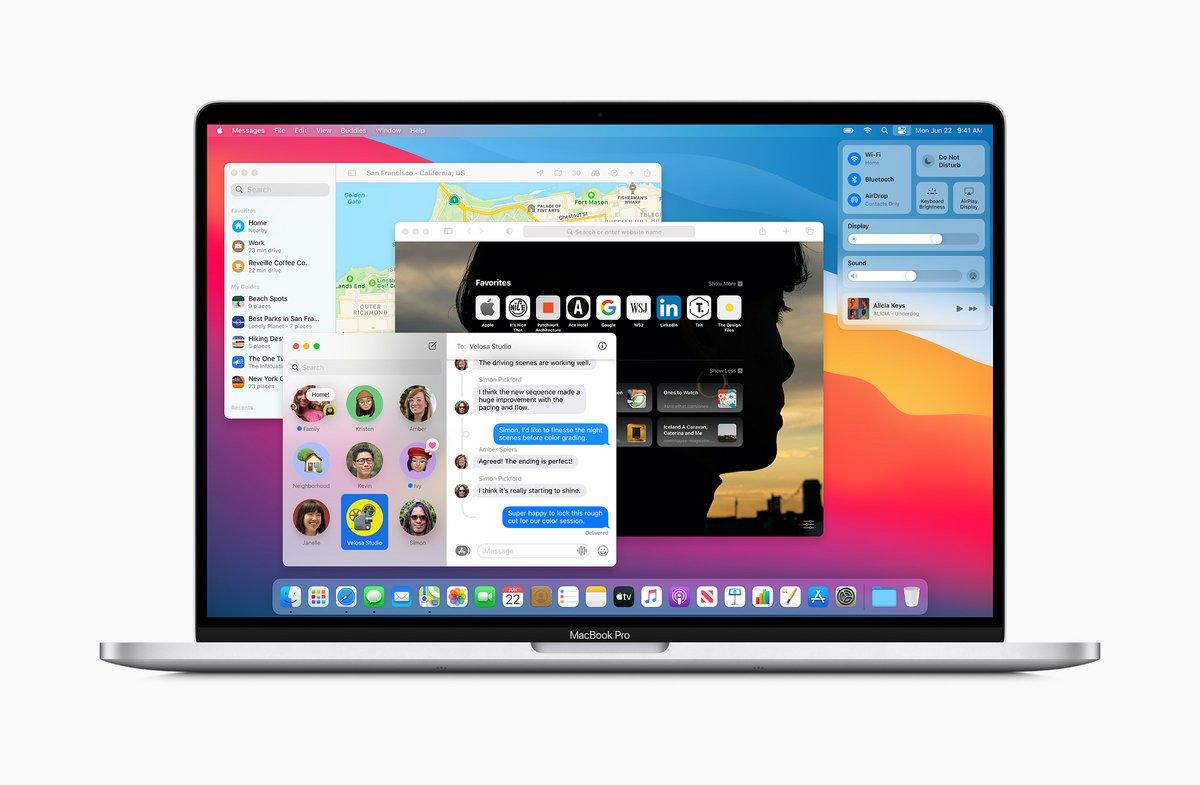 macOS Big Sur © Apple