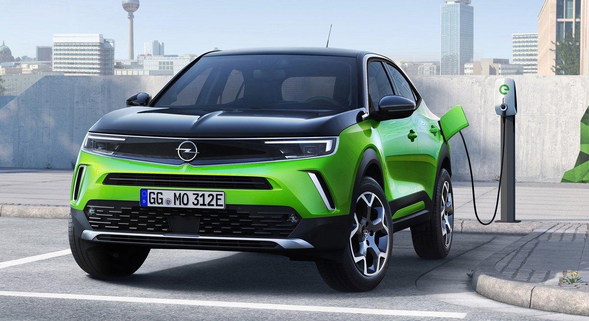 Opel Mokka-e, la charge