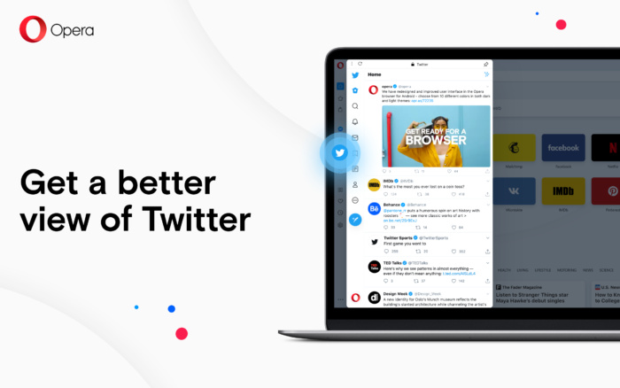 Opera Twitter