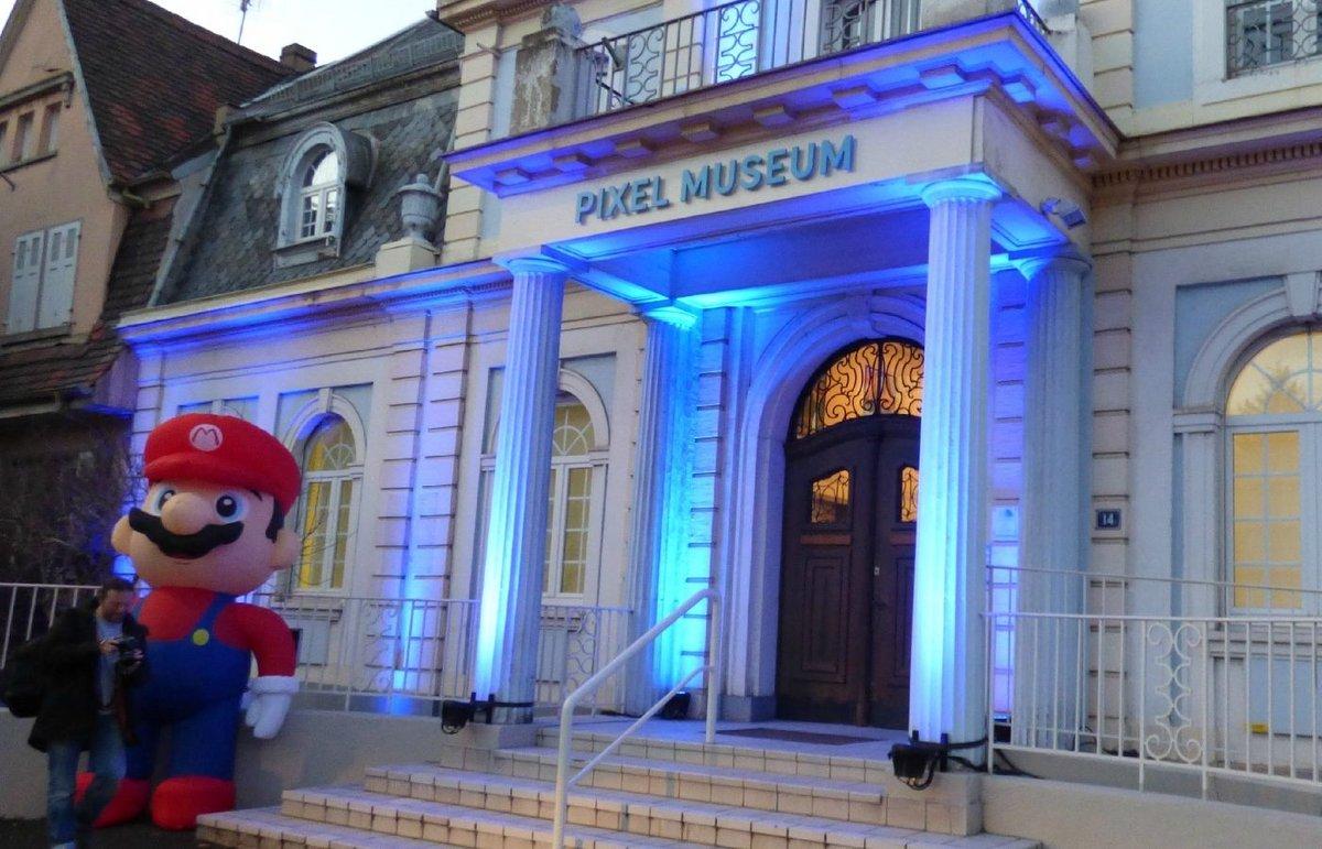 Pixel Museum © Stras et Pixels