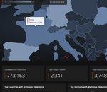 McAfee propose un tableau de bord des cybermenaces liées au coronavirus depuis le 1er janvier