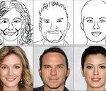 Une IA parvient à créer des portraits réalistes à partir de croquis