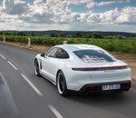 De nouvelles fonctionnalités pour la Porsche Taycan édition 2021