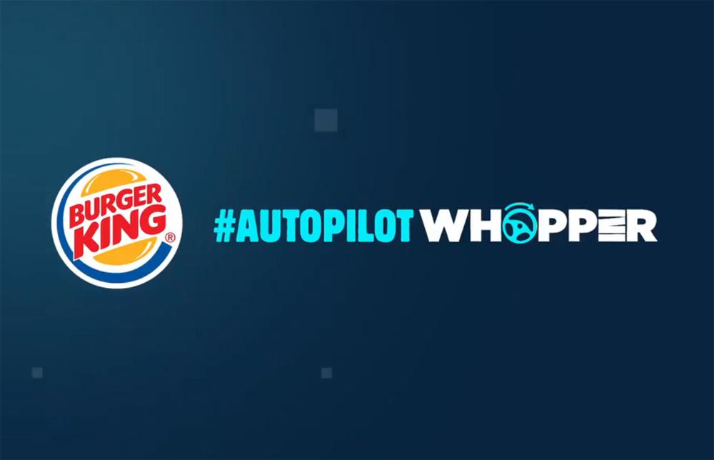 Burger King Autopilot
