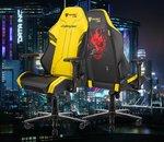 Cyberpunk 2077 : un siège gaming conçu en partenariat avec Secretlab