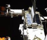 Changement de batteries et petite fuite : la Station spatiale internationale en maintenance !