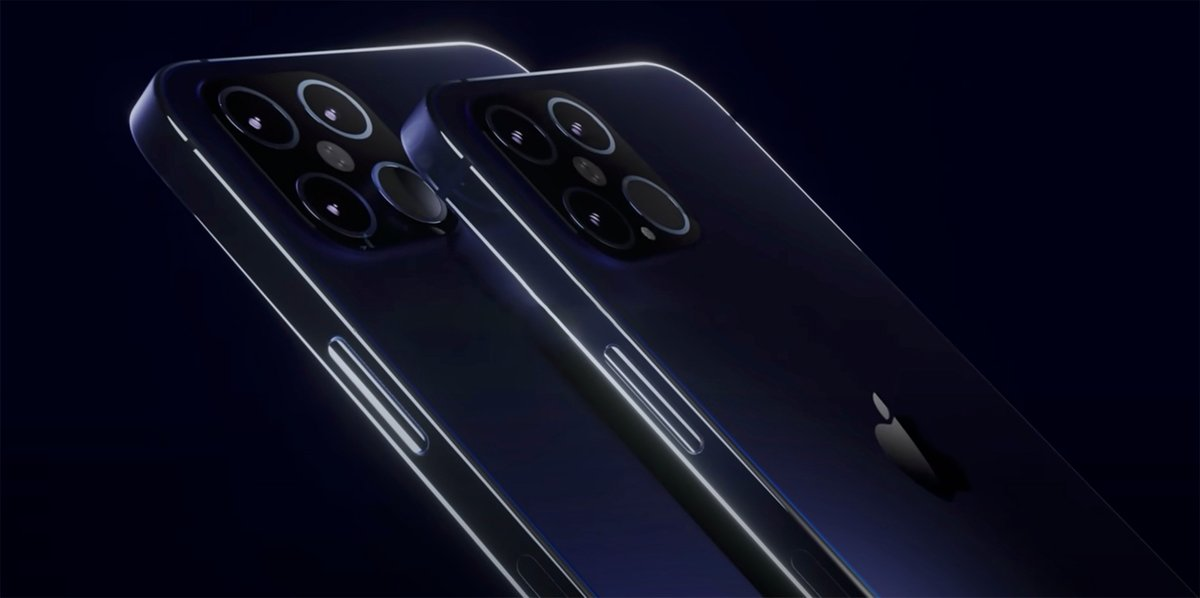 iPhone 12 Pro / iPhone 12 Pro Max © Concept par Mauro Batino