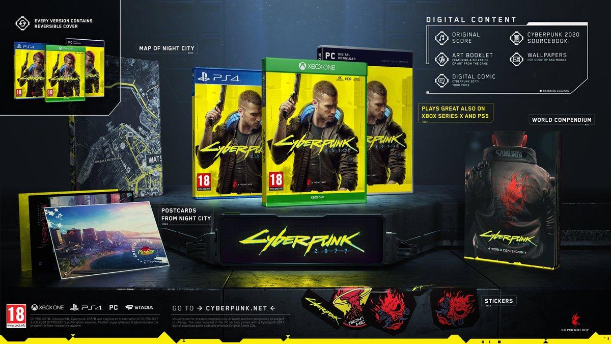 Cyberpunk 2077 édition standard