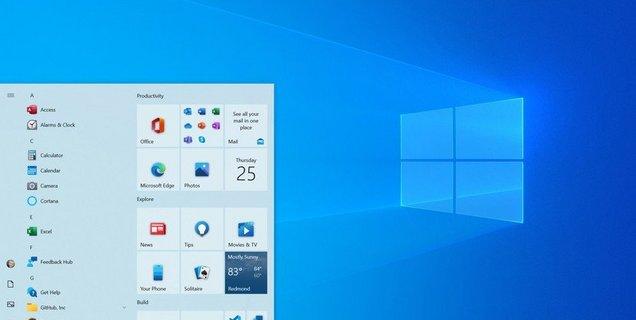 Windows : le futur design du menu démarrer montre ses variantes
