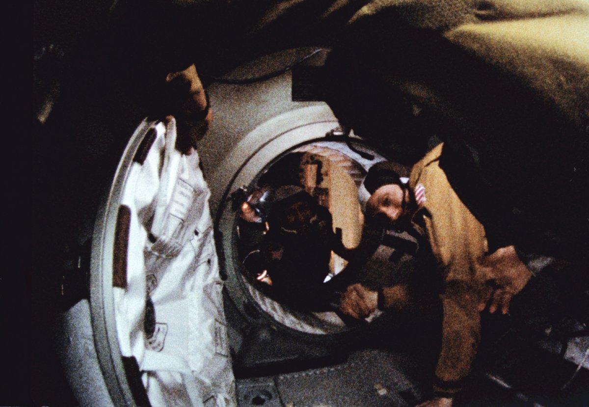Apollo-Soyouz Test mission © NASA