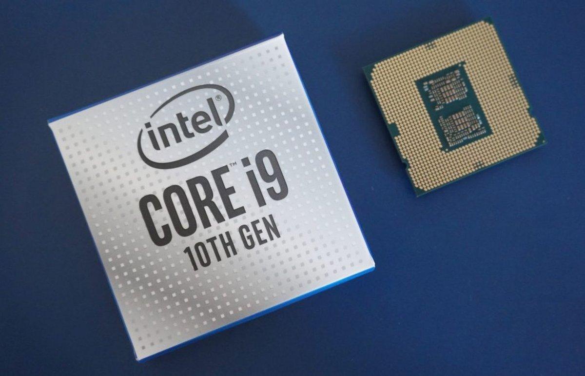 Intel Core i9 10e génération © Intel