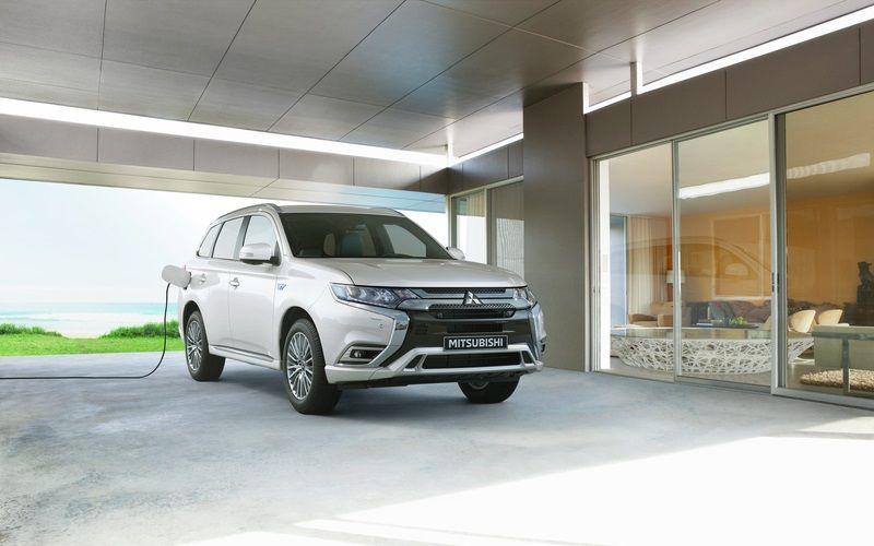 Niveau record de commandes pour le SUV hybride Mitsubishi Outlander PHEV