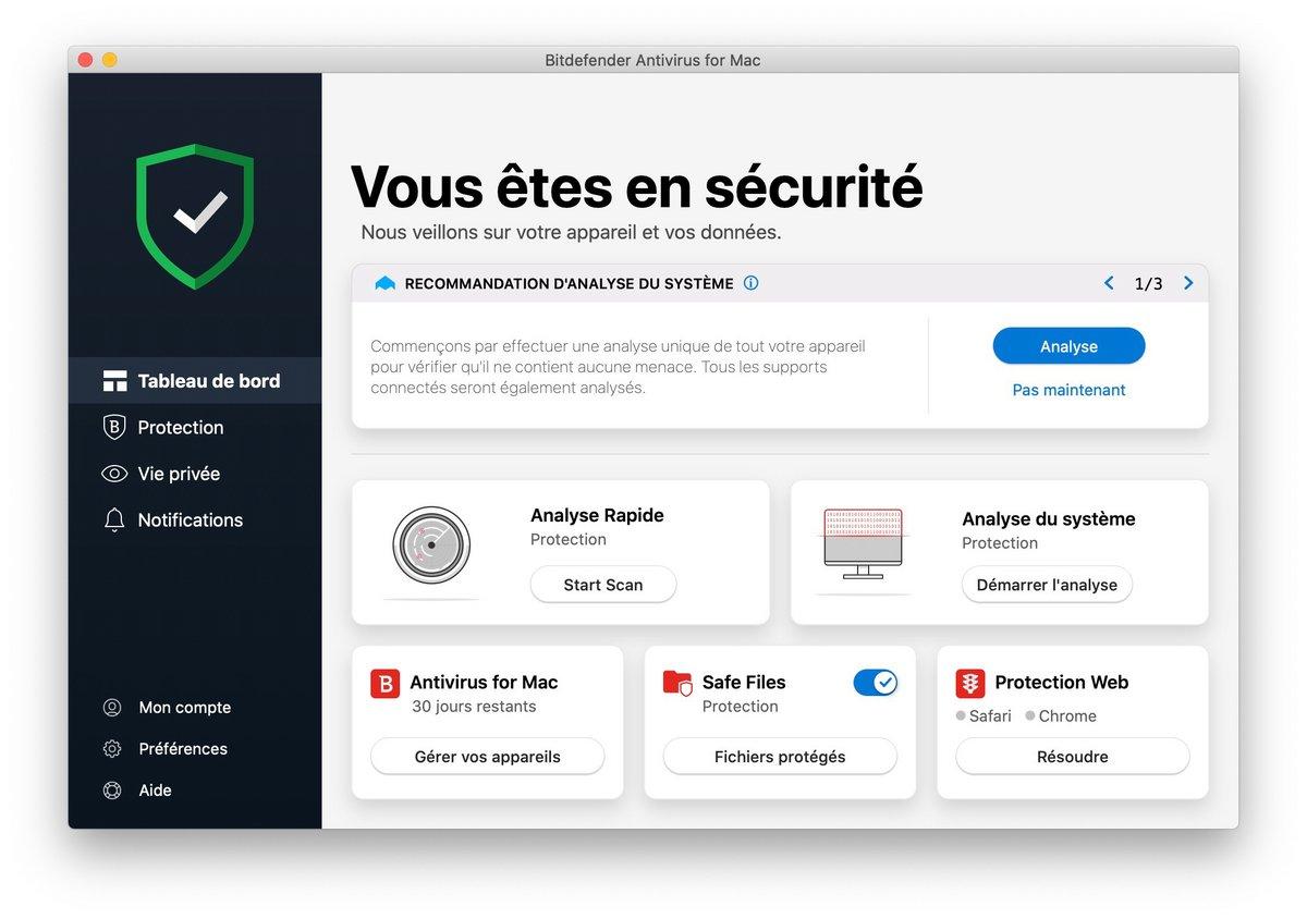 BitDefender Antivirus Mac0014.jpg © Clubic.com/Stephane Ruscher