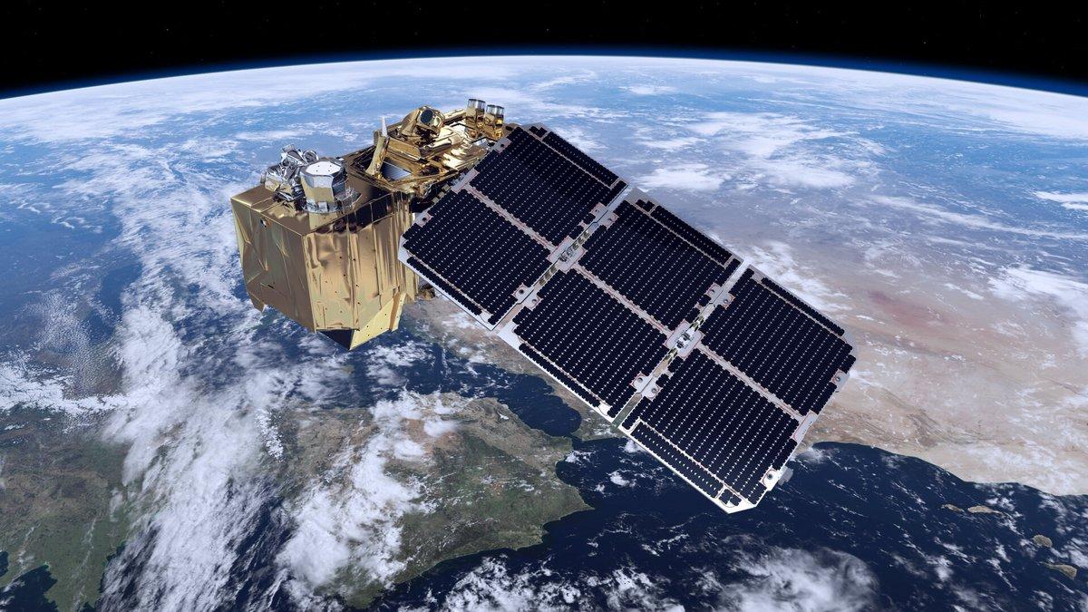 Sentinel 2 satellite artiste ESA © ESA